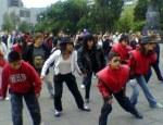 Bailando Thriller en Revolución