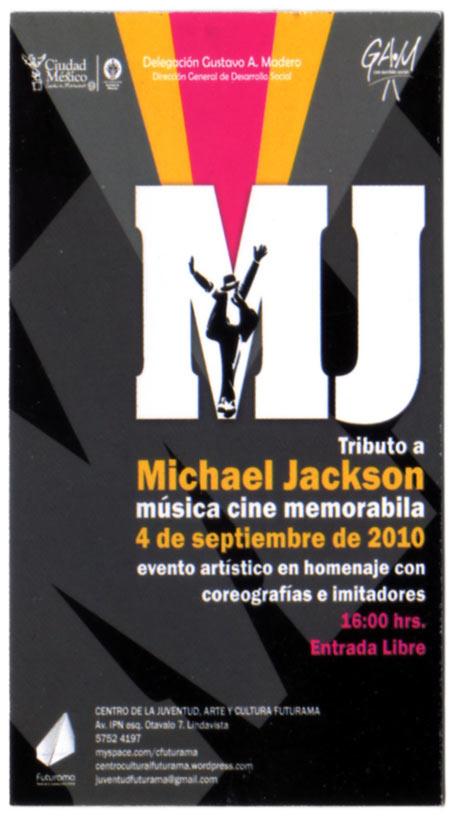 Michael Jackson en Futurama 30 agosto-4septiembre 2010